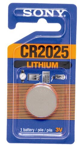 Sony Cr2025 Lithium Coin Battery 1 Battery