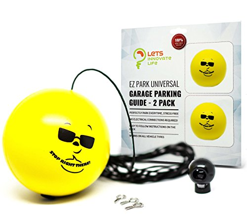 Double Garage Parking Aid Ball Guide System Simple To